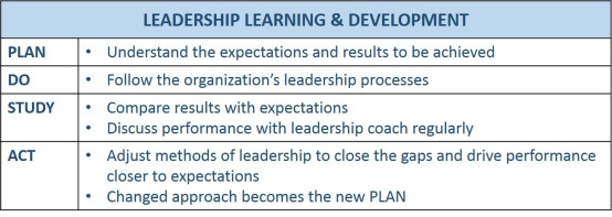 Leadership Learning and Development